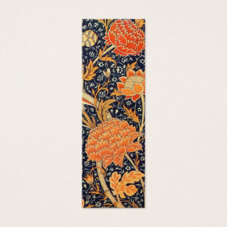 William Morris Cray Floral Art Nouveau Pattern Mini Business Card