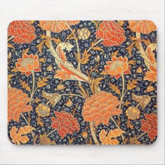 William Morris Cray Floral Art Nouveau Pattern Mouse Pad