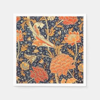 William Morris Cray Floral Art Nouveau Pattern Napkin