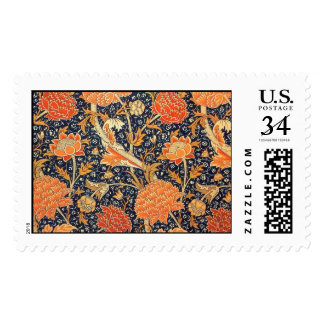 William Morris Cray Floral Art Nouveau Pattern Postage