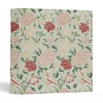 William Morris Cray Floral Pre-Raphaelite Vintage Binder