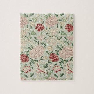 William Morris Cray Floral Pre-Raphaelite Vintage Jigsaw Puzzle
