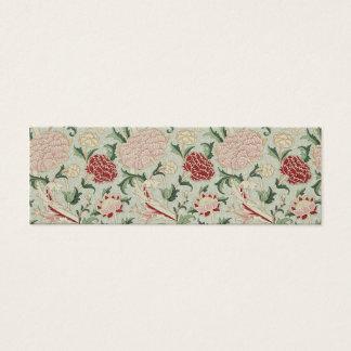 William Morris Cray Floral Pre-Raphaelite Vintage Mini Business Card