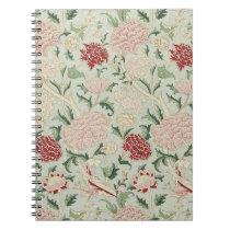 William Morris Cray Floral Pre-Raphaelite Vintage Notebook