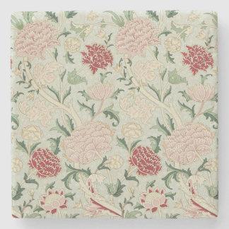 William Morris Cray Floral Pre-Raphaelite Vintage Stone Coaster