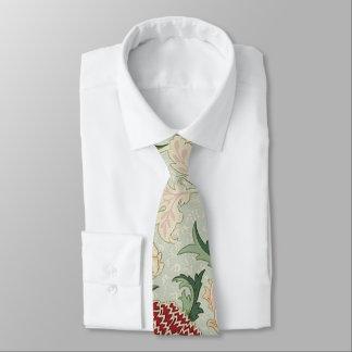 William Morris Cray Floral Pre-Raphaelite Vintage Tie