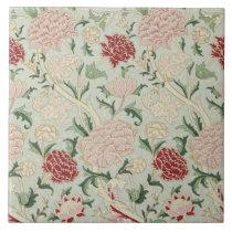 William Morris Cray Floral Pre-Raphaelite Vintage Tile