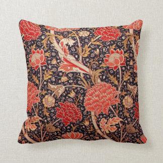 "William Morris ""Cray"" Floral Throw Pillow"