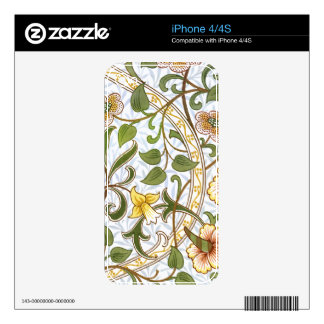 William Morris Daffodil Chintz IPhone 4/4S Skin iPhone 4S Skins