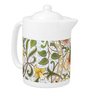 William Morris Daffodil Chintz Pattern Teapot