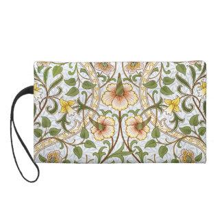 William Morris Daffodil Chintz Pattern Wristlet