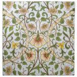 William Morris Daffodil Floral Pattern Napkin Set