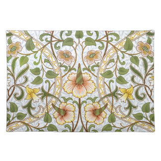 William Morris Daffodil Floral Pattern Placemat