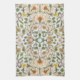 William Morris Daffodil Kitchen Tea Towel