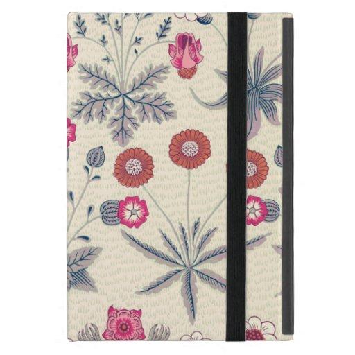William Morris Daisy Floral Pattern Red Orange Case For iPad Mini