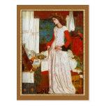 ~ William Morris de Iseult de la belleza del La Postal