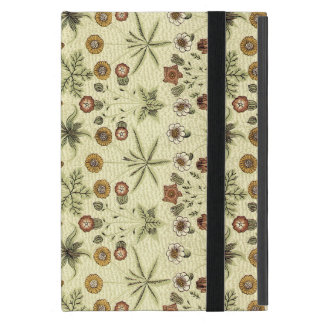 William Morris delicate floral pattern iPad Mini Cover