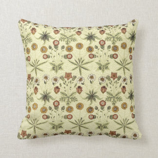 William Morris delicate floral pattern Throw Pillow