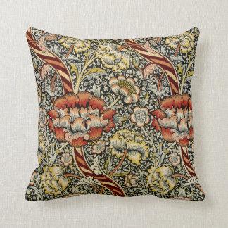 William Morris Design #9 Throw Pillow