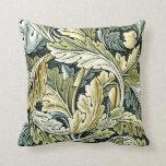 William Morris design: Acanthus leaf pattern Pillows