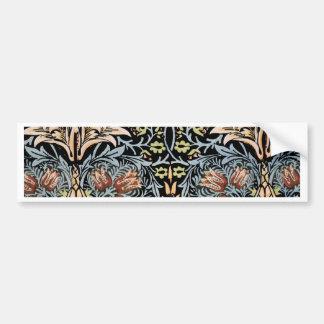 William Morris Design Bumper Sticker