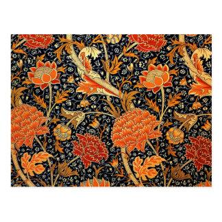 William Morris design, Cray Postcard