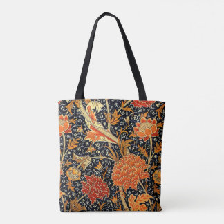 William Morris design, Cray Tote Bag