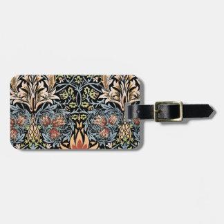 William Morris Design Travel Bag Tag