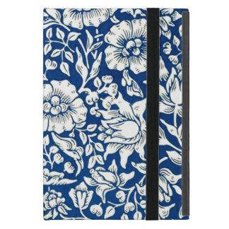 William Morris - diseño floral del vintage azul de iPad Mini Cárcasas