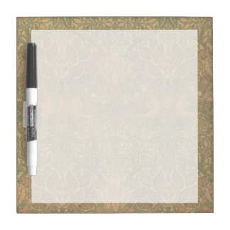 William Morris Dove and Rose Pattern Dry-Erase Board