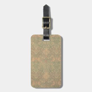 William Morris Dove and Rose Pattern Luggage Tags