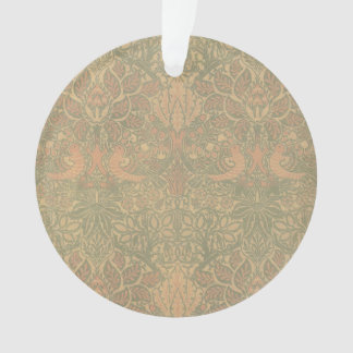 William Morris Dove and Rose Pattern Ornament