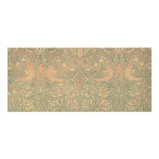 William Morris Dove and Rose Pattern Rack Card