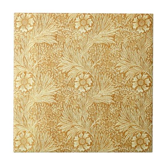 William Morris elegant flowers pattern Ceramic Tile