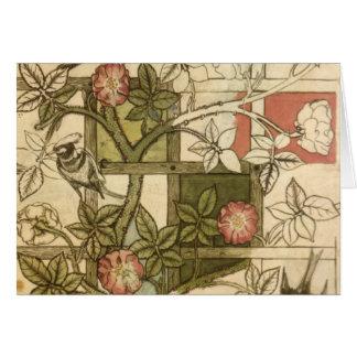 William Morris - enrejado Tarjeton