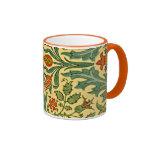 William Morris - estampado de plores del otoño Taza De Café