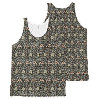 William Morris Evenlode pattern. All-Over Print Tank Top