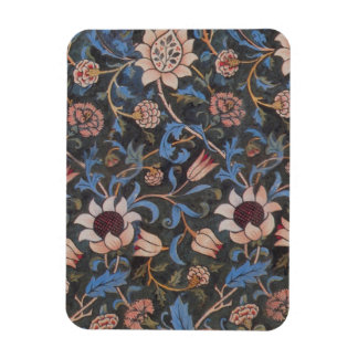 William Morris Evenlode Textile Pattern Rectangular Photo Magnet