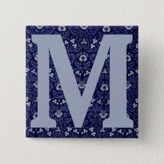 William Morris Eyebright Design Button