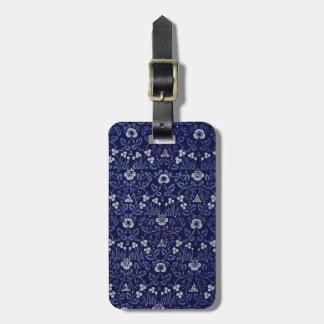 William Morris Eyebright Design Travel Bag Tag