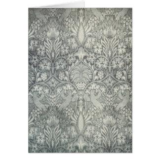William Morris Fabric Design Art Card 2