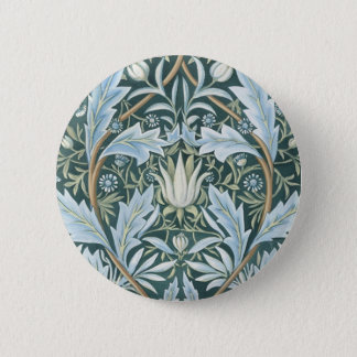 William Morris Fine Floral Wallpaper  Pattern Button
