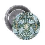 William Morris Fine Floral Wallpaper  Pattern Button