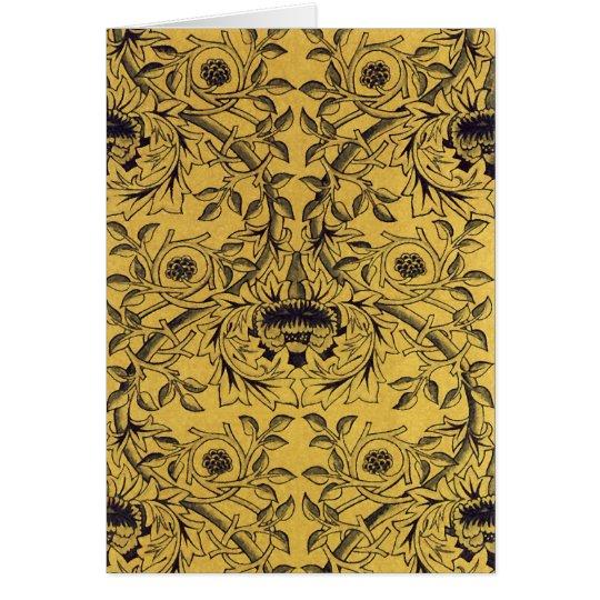 William Morris Fine Floral Wallpaper Pattern Card