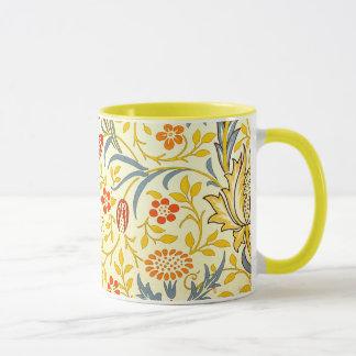 William Morris Flora Floral Wallpaper Pattern Mug