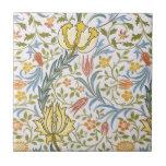 William Morris Flora Vintage Floral Art Nouveau Ceramic Tile