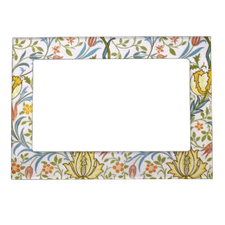 William Morris Flora Vintage Floral Art Nouveau Magnetic Frame