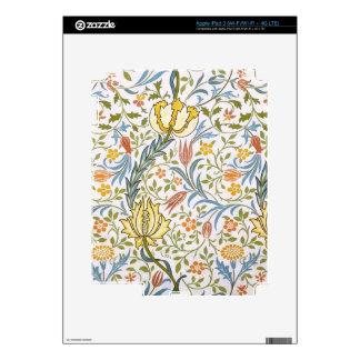 William Morris Flora Vintage Floral Art Nouveau Skin For iPad 3