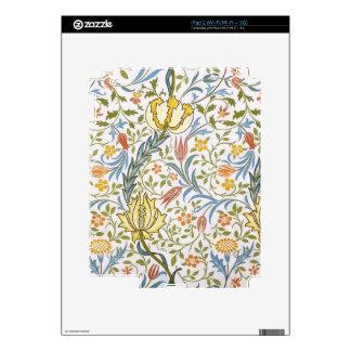 William Morris Flora Vintage Floral Art Nouveau Decal For The iPad 2