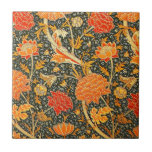 "William Morris Floral Artwork Vintage Wallpaper Ceramic Tile<br><div class=""desc"">A vintage wallpaper print from William Morris</div>"